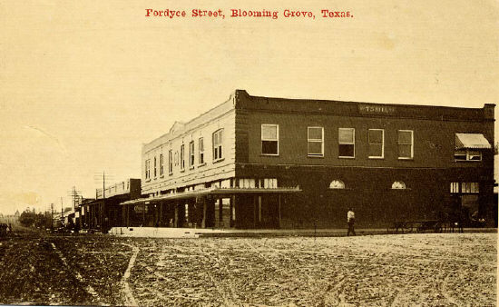 History Of Blooming Grove Texas Blooming Grove Texas
